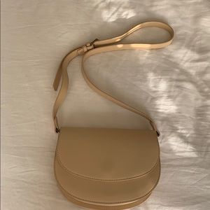 Nude cross body bag -small signs of wear